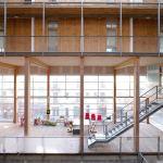 La constructora vasca EGOIN ha levantado el edificio de madera más alto de toda España