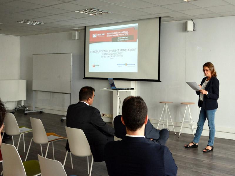 Jornada de Eraikune sobre las metodologías y sistemas de gestión de proyectos.