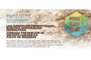 Jornada de prevención en riesgos laborales sobre el polvo de maderas @ Cámara de Comercio de Gipuzkoa