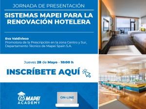 Webinar: Sistemas Mapei para la renovación hotelera