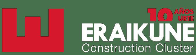 Logo de Eraikune por su 10º aniversario