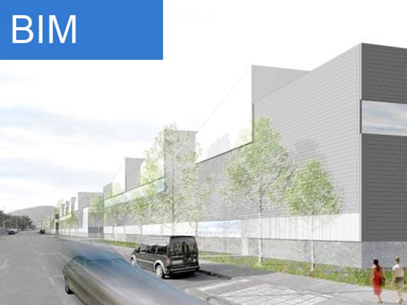 El Grupo Sprilur está impulsando el uso de la tecnología BIM (Building Information Modeling) para las obras de construcción de ocho naves industriales en el Polígono Pinoa de Zamudio.