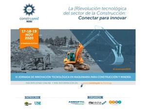 III Jornada de innovación tecnológica en maquinaria para la construcción y maquinaria @ Plataforma Live Streaming