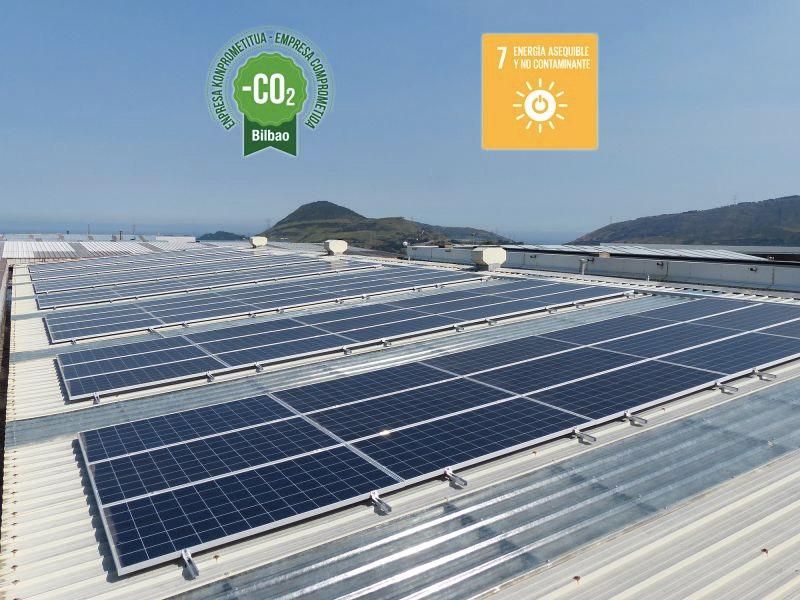 Viuda de Sainz instala 126 paneles solares en sus oficinas centrales
