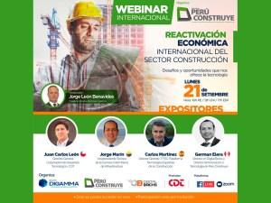 Foro Internacional Reactivación Economómica del Sector Construcción @ Webinar Online