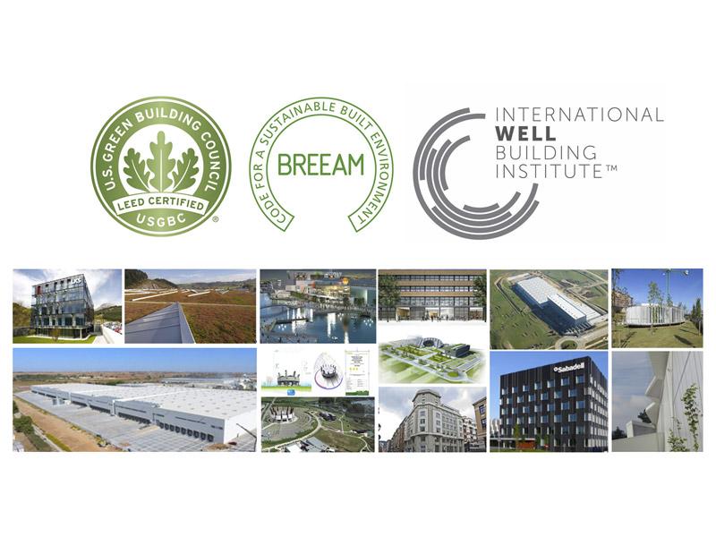 LKS Krean alcanza los 100 edificios certificados LEED, BREEAM o WELL