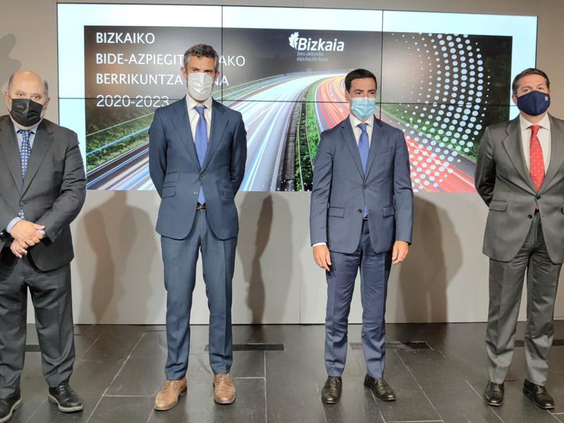 ERAIKUNE se suma al plan de infraestructuras viarias de la Diputación foral de Bizkaia