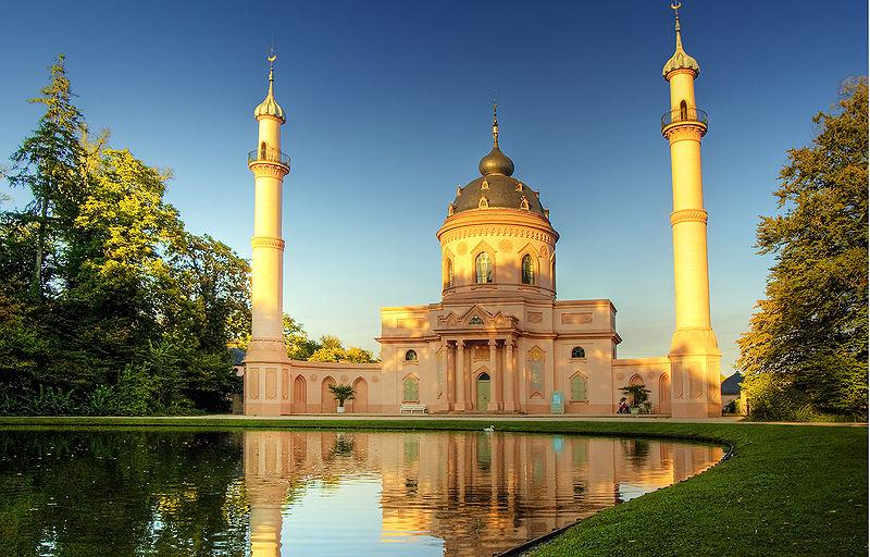 masjid Schwetzingen_Castle