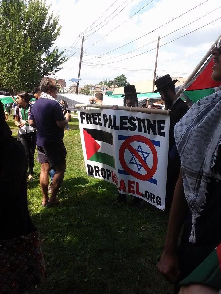 Solidarity With Gaza Di AS 4