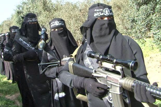 Hamas-female-fighters
