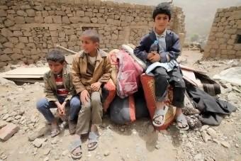anak-anak Yaman