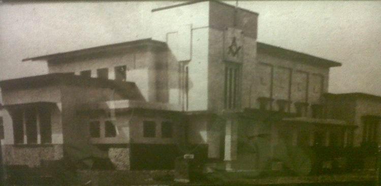 Gedung peninggalan freemason