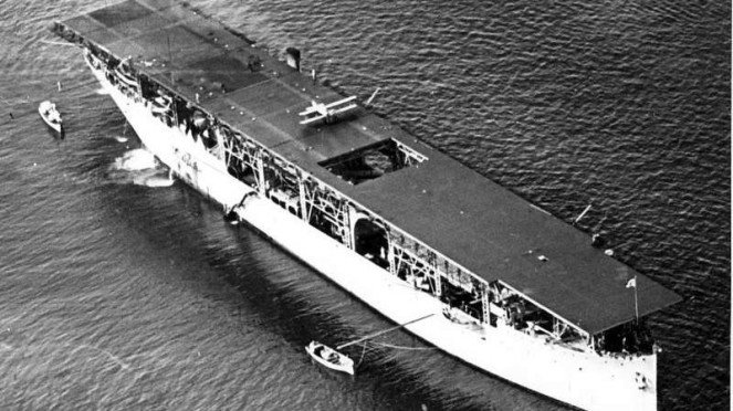 VIVA Militer: Kapal induk Angkatan Laut Amerika Serikat, USS Langley (CV-1)