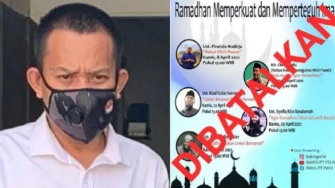 Pejabat PT Pelni Dipecat Bikin Pengajian, Rachland: Saya Mulai Curiga