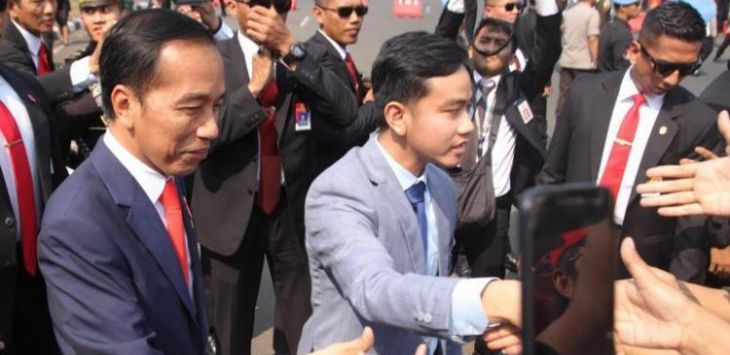 Presiden Jokowi dan Gibran Rakabuming Raka
