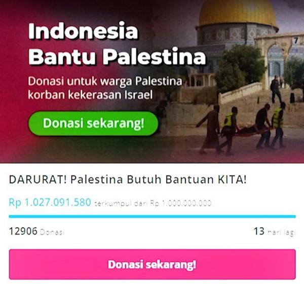 Galang Donasi untuk Palestina, Tiga Selebgram Ini Sukses Kumpulkan Dana Miliaran Rupiah