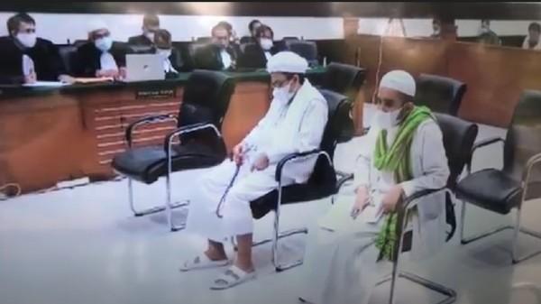 Drama Sidang Habib Rizieq Kasus Tes Swab RS Ummi Hingga Vonis Hari Ini