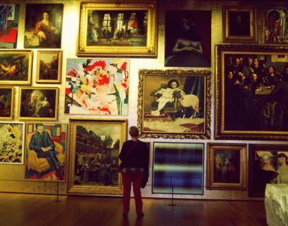 Exposición temporal en el museo MAS