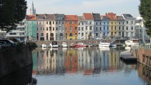 Río Leie. Gante Un día en Gante. La experiencia - IMG 7535 300x169 - Un día en Gante. La experiencia