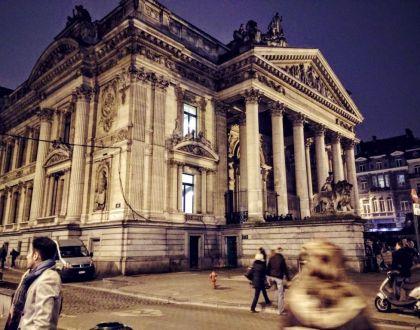 Viaje a Bruselas: espectáculo callejero