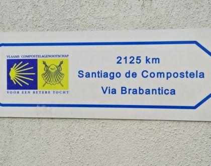 ¡¿Pero que hace aquí el Camino de Santiago?!
