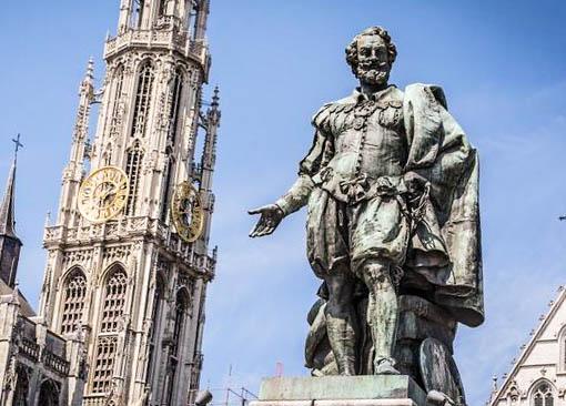 Tras las huellas de Rubens en Amberes - Rubens 1 Groenplaats 8 - Tras las huellas de Rubens en Amberes
