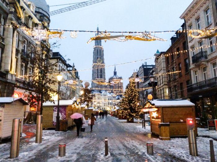 Pedalear para encender la Navidad - Winter in Antwerp 1 - Pedalear para encender la Navidad