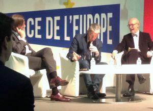 FERIA DEL LIBRO 2017 - Debate UE 300x218 - FERIA DEL LIBRO 2017