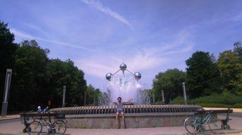 rutas ciclistas por bruselas (ii) - Atomium 1 - Rutas ciclistas por Bruselas (II)
