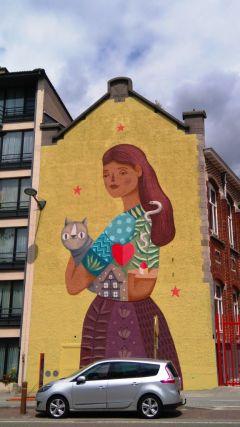 las paredes tienen mucho que expresar: mixity wall - Isa Frau - Las paredes tienen mucho que expresar: Mixity Wall
