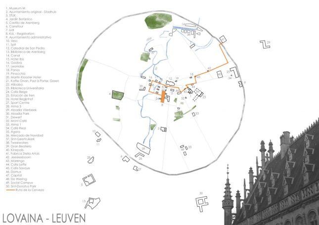 LEUVEN  - LEUVEN - Dibujando Lovaina (V): fin
