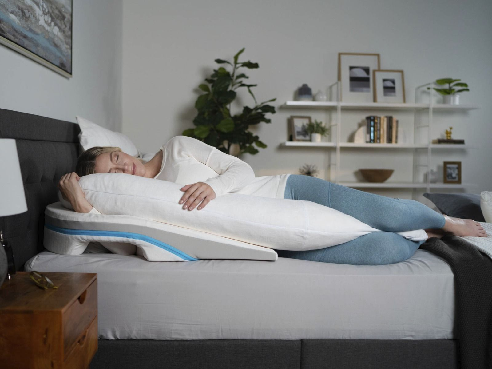 medcline lp shoulder relief system wedge body pillow 1439 02