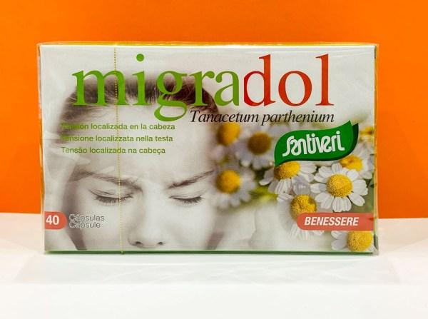 Capsule - migradol - Santiveri | Erboristeria Erbainfusa Como | Shop Online