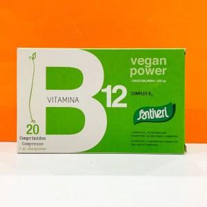 Compresse - vitamina B 12 - Santiveri | Erboristeria Erbainfusa Como | Shop Online