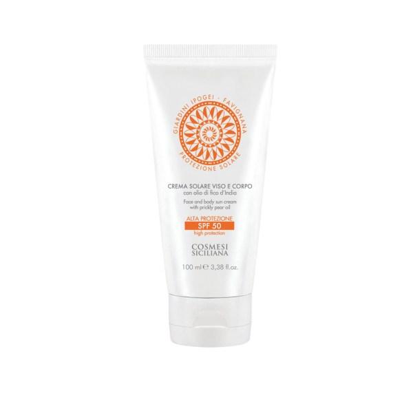 Crema solare viso e corpo spf 30 - Cosmesi Siciliana | Erboristeria Erbainfusa Como | Shop Online