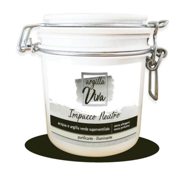 Argilla - impacco neutro - Sapone Marino | Erboristeria Erbainfusa Como | Shop Online