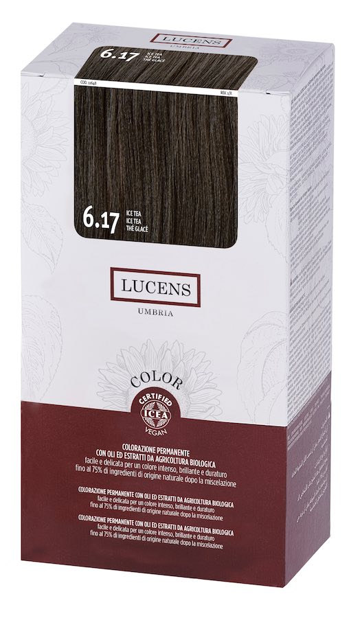 Colore naturale capelli - 6.17 ice tea - Lucens Umbria | Erboristeria Erbainfusa Como | Shop Online