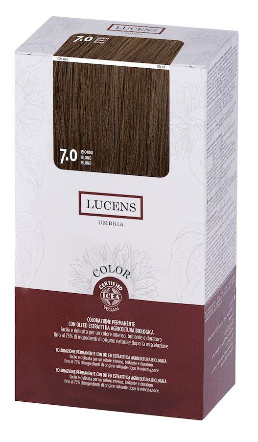 Colore naturale capelli - 7.0 biondo - Lucens Umbria | Erboristeria Erbainfusa Como | Shop Online