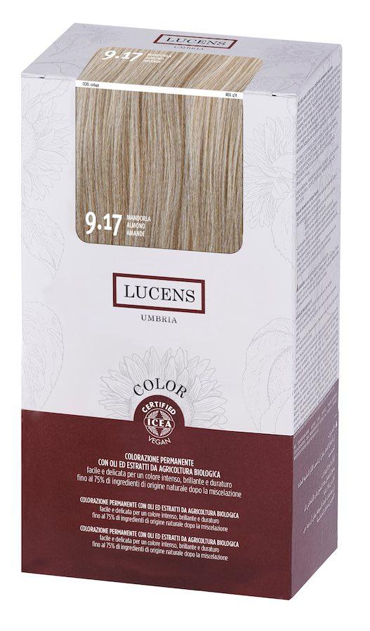 Colore naturale capelli - 9.17 mandorla - Lucens Umbria | Erboristeria Erbainfusa Como | Shop Online