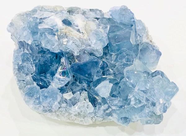 Drusa - celestina - Cristalli del benessere | Erboristeria Erbainfusa Como | Shop Online