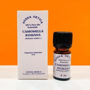 Olio essenziale - camomilla romana - Nonna Ortica | Erboristeria Erbainfusa Como | Shop Online