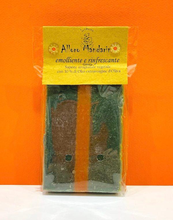 Sapone vegetale - alloro mandarino - Lunaroma   Erboristeria Erbainfusa Como   Shop Online