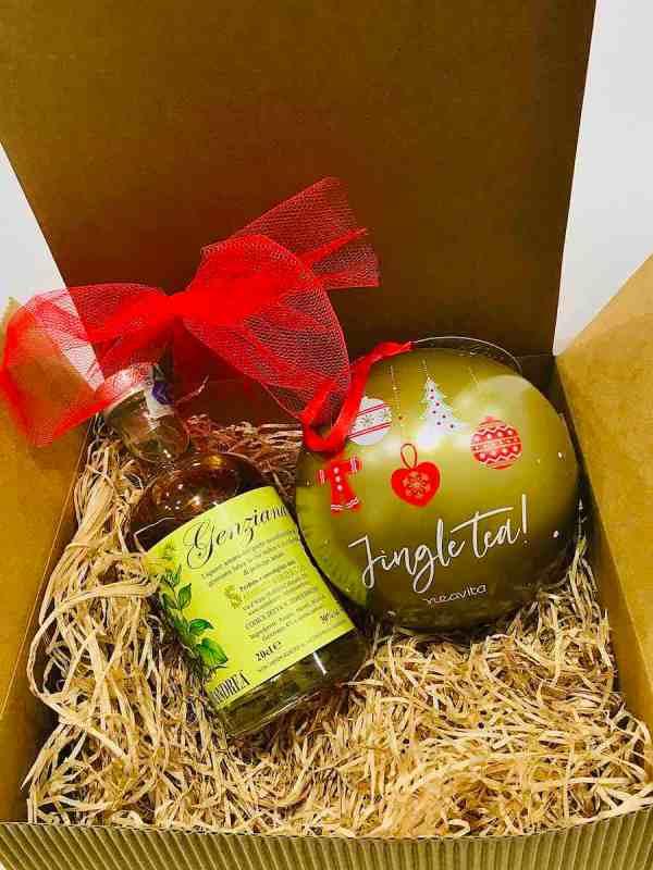 Amaro Genziana e Tè di Natale | Erbainfusa Como | Shop Online
