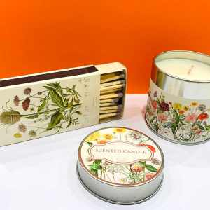 Candela di soia - fiori di campo - Erbainfusa | Erboristeria Erbainfusa Como | Shop Online