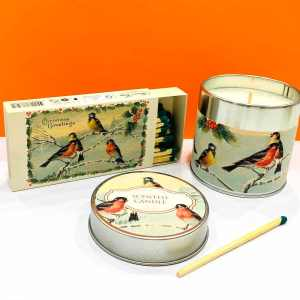 Candela di soia - uccellini - Erbainfusa | Erboristeria Erbainfusa Como | Shop Online