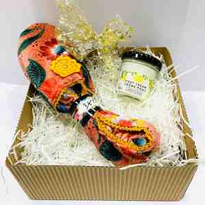 Crema piedi limone e babbucce arancio | Erbainfusa Como | Shop Online