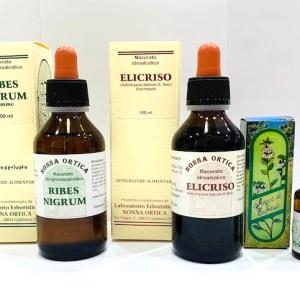 Kit allergia SOS - prurito - collirio - Erbainfusa | Erboristeria Erbainfusa Como | Shop Online