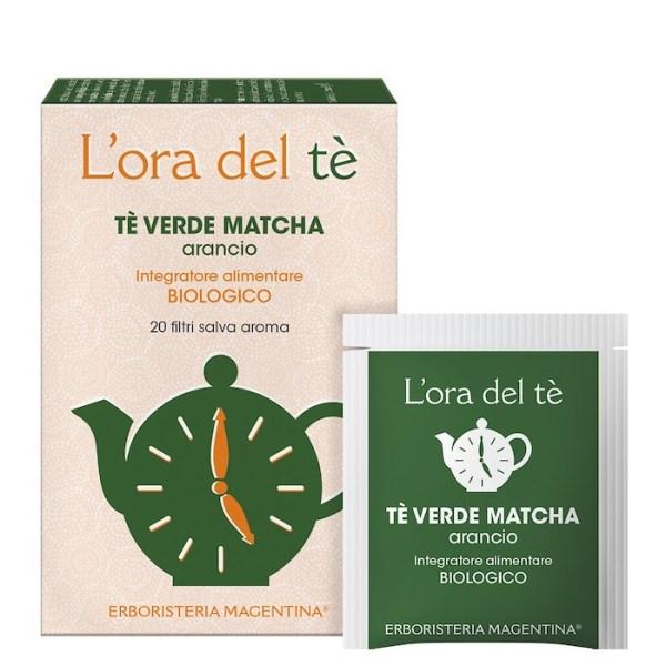 Tè Verde Matcha - Arancio - Erboristeria Magentina   Erboristeria Erbainfusa Como   Shop Online