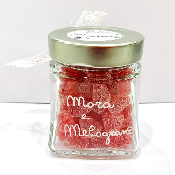 Caramelle morbide in vetro - miele, mora e melograno - Erbainfusa | Erboristeria Erbainfusa Como | Shop Online