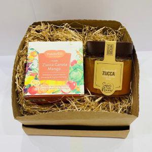 Confezione regalo - Infuso Zucca, Carota e Mango e confettura di zucca - Erbainfusa| Erboristeria Erbainfusa Como | Shop Online